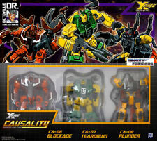 Transformers FansProject Exclusive Armored Battalion / Deluxe Insecticons New