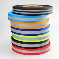 Elastic Silver Reflective Tape Iron On Fabric Heat Transfer Vinyl Film DIY For Clothing 2 x 66ft
