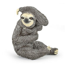 Papo 50214 Sloth with Baby Model Wild Animal Figurine Toy New for 2017 - NIP