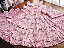 Bodyline Sweet Lolita Pink Cherry Blossom Pattern Sakura JSK Dress Size M NWT