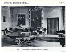 La k. k. theresianische academia en Viena la imagen sprechsaal documento de 1909