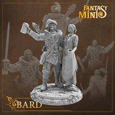 Fantasy Minis - FM11 - Bard & Waitress