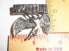 """vintage """"Led Zeppelin"""" pin collectible old rock band music concert memorabilia"""