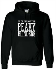 By Order of the Peaky Blinders Hoodie Shelby Brothers BBC TV Show Fan Clothing