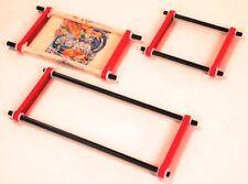 "F.A. Edmunds 18"" 2-Rail Scrolling Ratchet Stitch Needlework Frame"
