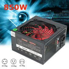 PSU PFC 850 W Watt Fan ATX 24-PIN 12CM PC Computer Gaming Power Supply 80+ Gold