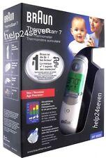 NUOVO Braun Thermoscan 7 IRT 6520 Baby & Adult Orecchio Termometro Digitale Professionale