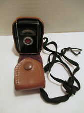 Vintage GE General Electric Type PR-30 Mascot Exposure Meter with Leather Case