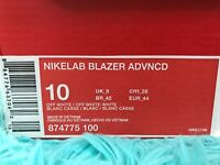 Nike Lab Blazer Advncd Off White Men's Size 10