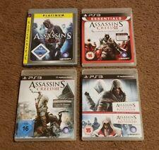 Assassins Creed Games Bundle (PlayStation 3, PS3) Dual Pack CIB PAL Import