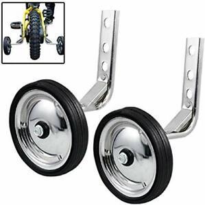 Training Wheels Little World Heavy Duty Rear Bicycle Stabilizers Mounted Kit ...