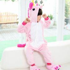 Children Pajamas Unicorn Pyjamas Kids Pajama Cartoon Unisex Warm Cute Pijamas