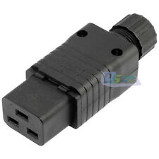 IEC320 C19 16A Rewirable Connector, IEC 320 C19 Female Power Cord Connector