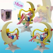 "SAILOR MOON/ FIGURA TSUKINO USAGI 15 CM- ANIME FIGURE MOON 6"" BOX"