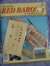 HACHETTE BUILD THE RED BARON'S FIGHTER PLANE FOKKER DR1 # 20 NEW SEALED