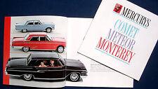 Prospekt brochure 1962 Mercury Comet * Meteor * Monterey (USA)