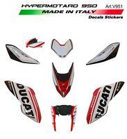 Kit completo adesivi design personalizzato 2019 - Ducati Hypermotard 950