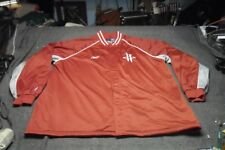"""HOUSTON ROCKETS Red Track Reebok Jacket Size 4 XL Tall +2"""" Good condition"""