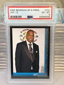 Rare Jay Z Rookie Card 2005 PSA Basketball NBA RC Tour Concert Def Jam - Topps