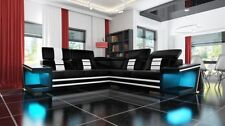 Einfarbige Sofas aus Kunstleder Wohnlandschaften