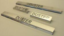 Edelstahl Einstiegsleisten Dacia Duster mit Logo