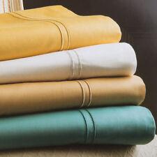 Lenzuola e federe in oro 100% Cotone