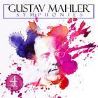 CD Gustav Mahler Symphonies incl Resurrección, die Trágico, Das Lied 4CDs