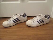 Used Worn Size 13 Adidas Superstar 2 Shoes White Purple