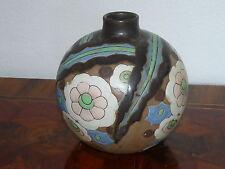 Super Rare Art Deco Vase Boch Keramis Charles Catteau BELGIUM