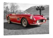 1965 Ferrari 250 GT California - 30x20 pouces toile-Encadrée Photo Classique Voiture