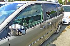 Fits 08-2019 Dodge Grand Caravan chrome mirror cover door handle cover trim