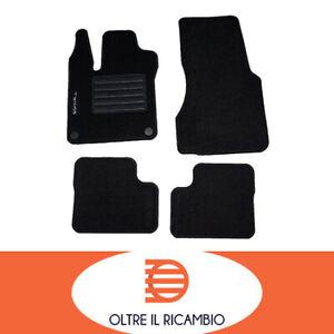 Tappetino auto tappetini per RENAULT TWINGO 3 dal anno 2014-Nero 4 pezzi