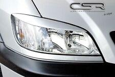CSR Scheinwerferblenden für Opel Zafira A 99-05 Böser Blick Blenden Set ABS