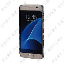 Stylish cover gommata sottile Samsung Galaxy S7 Grey Camo