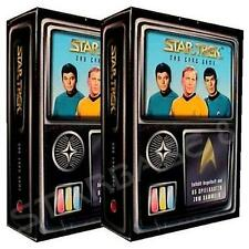 2x SKYBOX STAR TREK DAS KARTENSPIEL - STARTER DECK in DEUTSCH