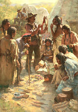 Howard Terpning TRADERS AMONG THE CROW Tribute to the Plains People ARTIST PROOF