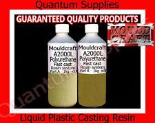 MOULDCRAFT A2000L 2kg Fast Cast Polyurethane Liquid Plastic Casting Resin kit