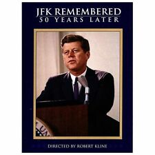JFK Remembered: 50 Years Later (DVD, 2013) NEW  SEALED