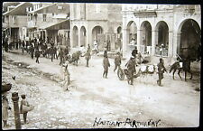 HAITI~1908 PORT AU PRINCE HAITIAN ARTILLERY ~ ARMY SOLDIERS ~ Real Photo PC RPPC