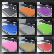 "Textured Carbon Skin Kit For MacBook Pro 13"" 15""  Retina Protection Sticker Wrap"