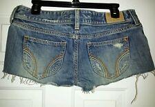 Girls Denim Cut off Shorts 7