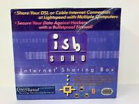 New Nexland ISB Soho Internet Sharing Box 2001 Home Network 4 Port 10/100 Switch