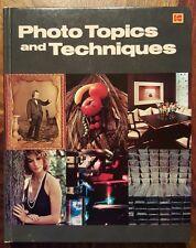 1980 Kodak photo topics and techniques
