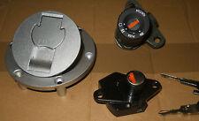 Cagiva Raptor 650 1000 NEW Lockset Ignition Switch Fuel cap seat lock V-raptor