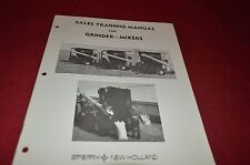 New Holland Grinder Mixer For 1975 Sale Training Manual Manual DCPA5 ver2