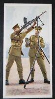 Tri-pod Mounted Bren Gun    British Army   Vintage Picture Card