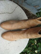 Roots super cute! Brown Leather  Boots Size 40 US 8 - 8.5 nice!