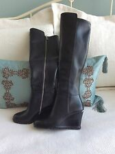 Michael Kors Wedge Boots NEW!!