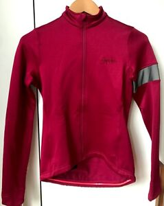 Rapha Women's Winter Jersey. Dark Red. Size Small