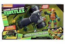 Teenage Mutant Ninja Turtles Ninja Stealth Bike with Exclusive Raphael Brand New